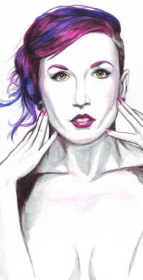 Rhapsody Blue - Ottawa-based producer/performer/model